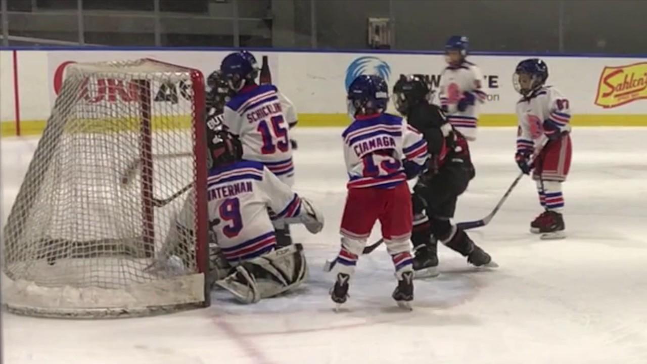 Kids Hockey U8 Game Highlights Youtube