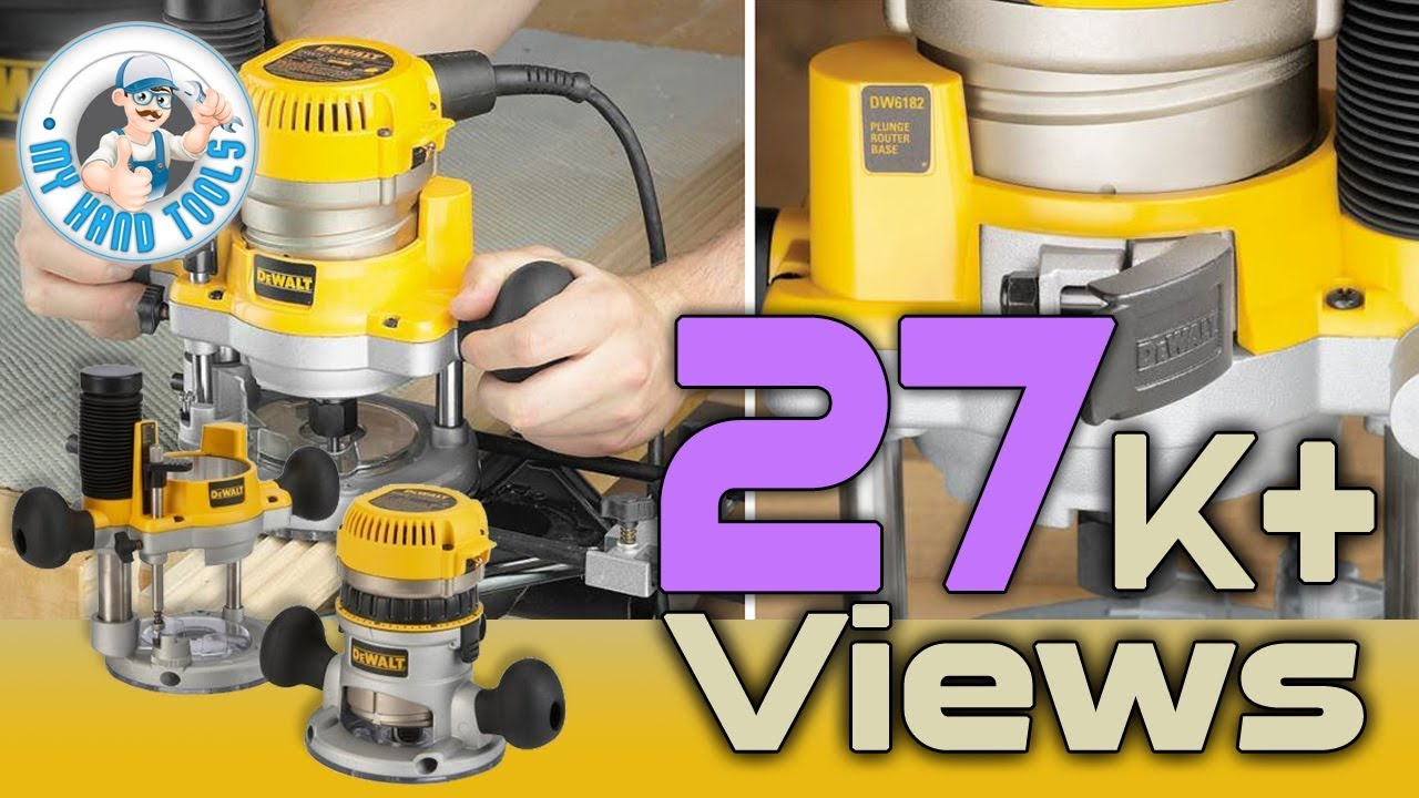 Dewalt dw618pk plunge and fixed base variable speed router kit dewalt dw618pk plunge and fixed base variable speed router kit review greentooth Images