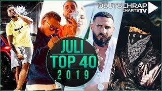 TOP 40 Deutschrap MONATSCHARTS JULI 2019
