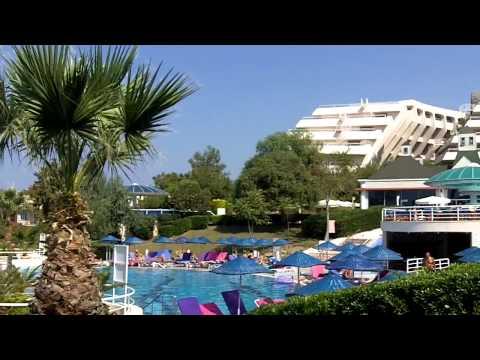 Grand Blue Sky International Hotel, Kusadasi, Turkey  - pool and beach
