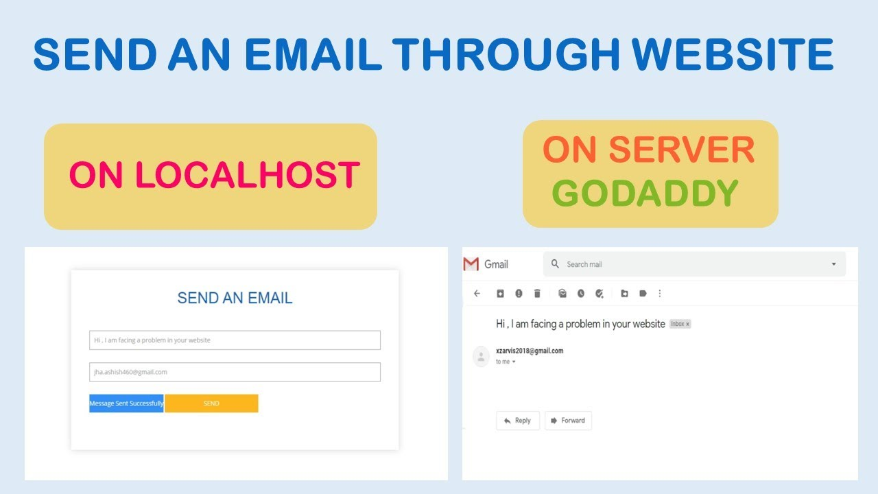how to send email automatically using asp.net