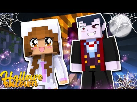 BABY ELLIE IS HUNTED BY COUNT DRACULA! | Minecraft Little Kelly