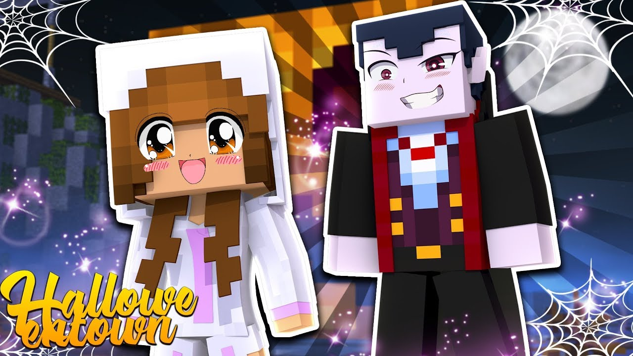 baby-ellie-is-hunted-by-count-dracula-minecraft-little-kelly