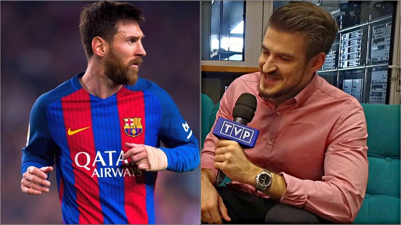 """""""Izak"""" rozwiązuje quiz o Messim w aplikacji mobilnej TVP Sport. Sprawdź, jak mu poszło!"""