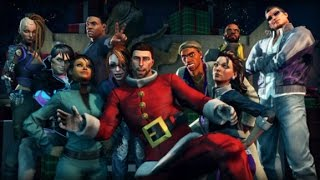 Saints Row 4: How The Saints Save Christmas Game Movie (All Cutscenes) 1080p HD