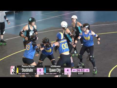 Game 2: Stockholm Roller Derby v Queen City Roller Girls