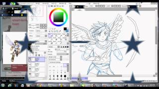 Speed Paint : Pit (Kid Icarus Uprising)