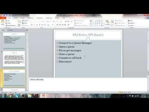 MQ Basic Introduction