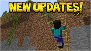 Future Minecraft Updates - NEW Player Animations! & NEW Cave Ores Q&A