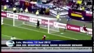 Belanda vs Jerman 1 2 n Denmark vs Portugal 2 3 Euro 2012   YouTube