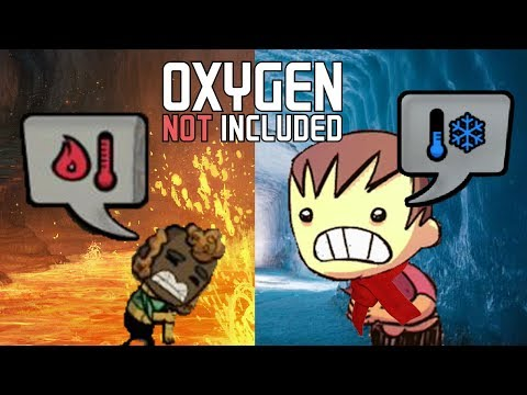 Temperature Management - Oxygen Not Included Tutorial/Guide
