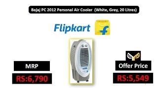 Bajaj PC 2012 Personal Air Cooler (White, Grey, 20 Litres)