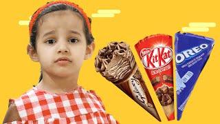 اميرة و الايسكريمات الشهية!! Delicious ice creams