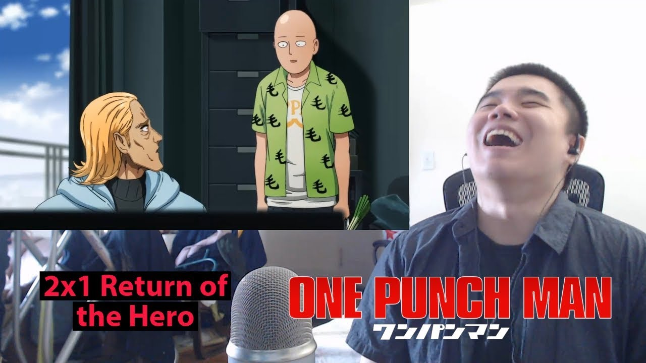 One-Punch Man Season 2 Episode 1 Return of the Hero- Reaction and  Discussion!
