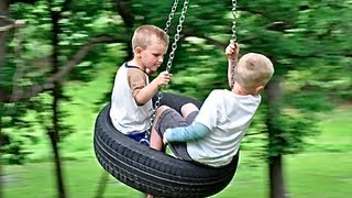 How To Build A Tire Swing