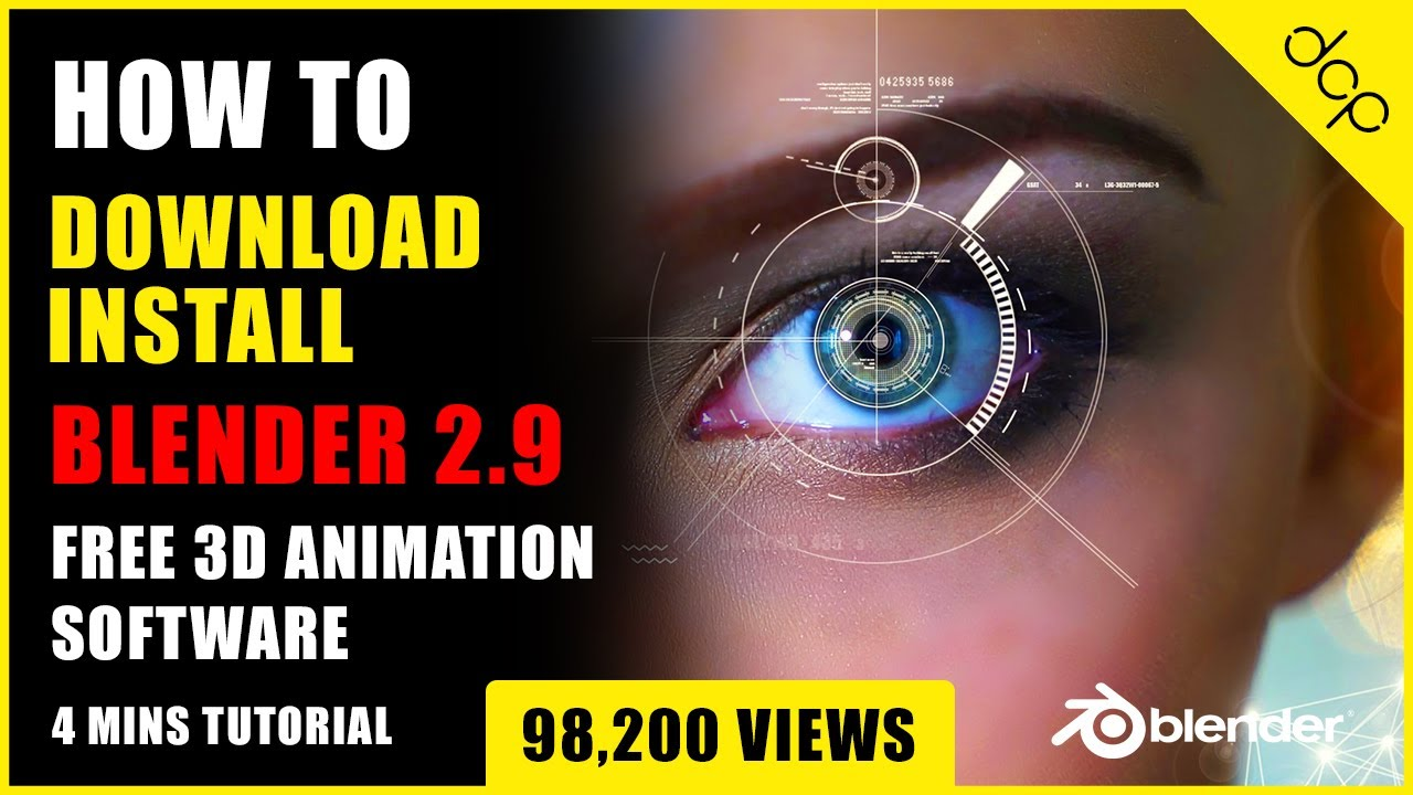 Download How to download and install Blender 2.9