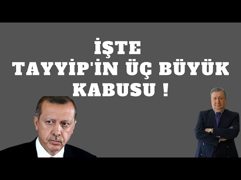 İŞTE TAYYİP'İN ÜÇ BÜYÜK KABUSU (Sabahattin ÖNKİBAR - ALTERNATİF) #haber