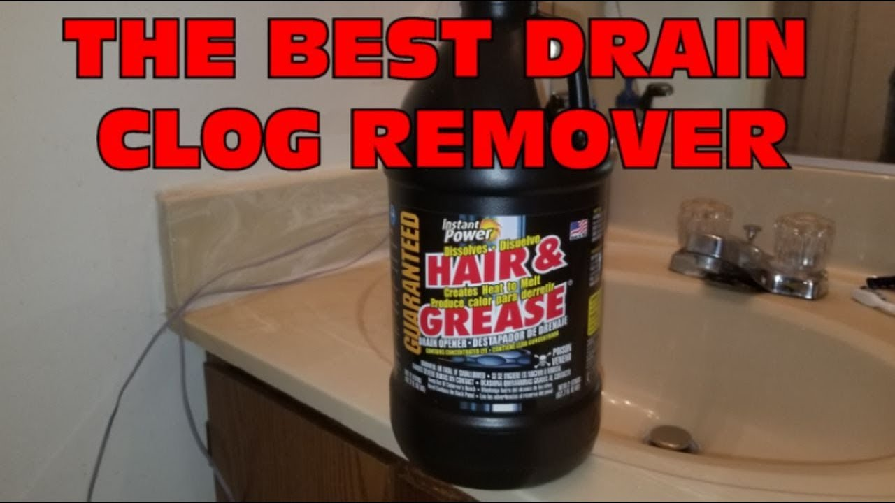 The Best Drain Clog Remover Instant Power Hair And