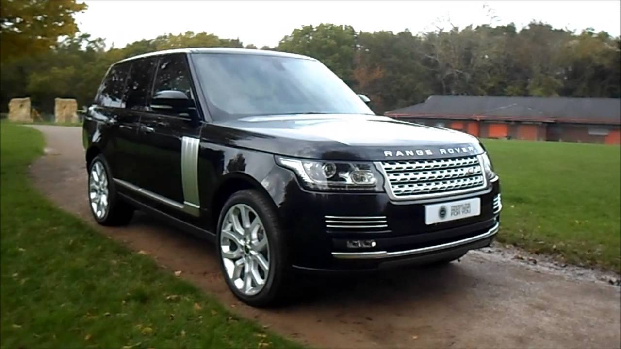 2013 13 plate land rover range rover 4 4 sdv8 vogue se. Black Bedroom Furniture Sets. Home Design Ideas