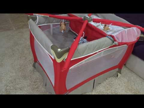 Покупка кроватки для ребенка. Распаковка Chicco Lullaby LX