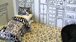 How To Make A Cardboard Doll House- Easy  Doll Crafts