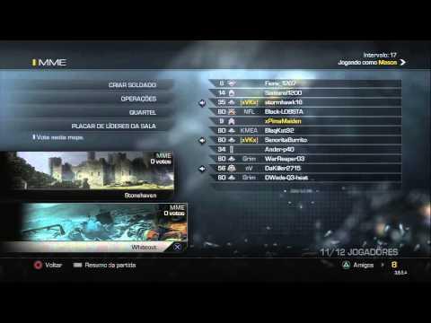 RTC #2-3 - Muito tempo sem jogar - Call of Duty: Ghosts