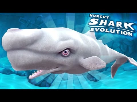MOBY DICK ARRIVES! || Hungry Shark Evolution - Ep 27 HD
