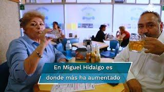 Durante el confinamiento, los habitantes de  Miguel Hidalgo, Benito Juárez, Xochimilco  y Milpa Alta se ubican entre los que más ingirieron bebidas alcohólicas, revela estudio del IAPA