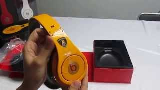 Monster Beats By Dr Dre Limited Edition Lamborghini Studio Headphone