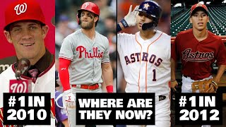 EVERY 1 MLB PICK THE LAST DECADE WHERE ARE THEY NOW