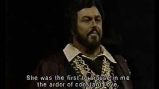 Luciano Pavarotti - Ella mi fu rapita - Live 1981