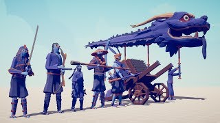 DINASTY FACTION vs EVERY UNIT - Totally Accurate Battle Simulator TABS