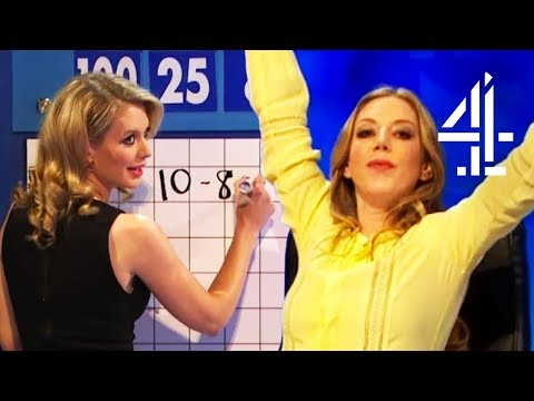 Katherine Ryan Is SO Sure She Got The Maths Right!  8 Out Of 10 Cats Does Countdown