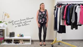 How to create an hourglass figure with clothes!