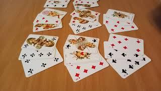 ♦БУБНОВЫЙ КОРОЛЬ, гадание онлайн на  игральных  картах,  ближайшее будущее, цыганский