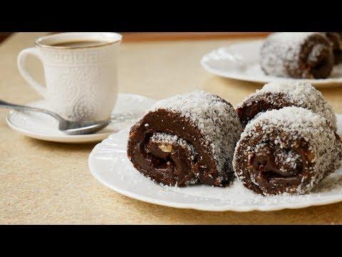 Всего ТРИ ингредиента. Обожаю этот десерт с кофе. Цыганка готовит.