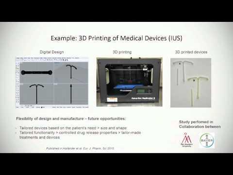 3D Printing Drugs by Professor Niklas Sandler | Slush 2015