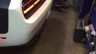 EMP 2015 boosted Dodge Challenger scat pack
