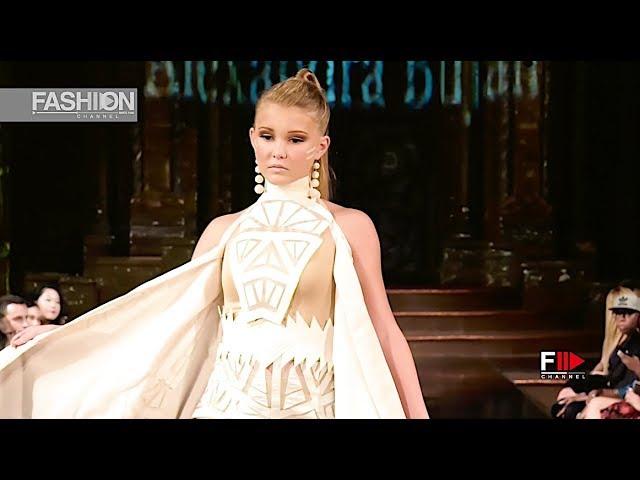 ALEXANDRA BUJAN Spring Summer 2019 NYFW by Art Hearts Fashion New York - Fashion Channel