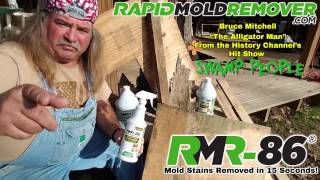 """Swamp People"" personality Bruce Mitchell uses RMR-86"