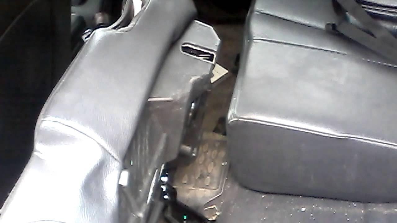 шевроле авео схема раскладки задних сидений видео