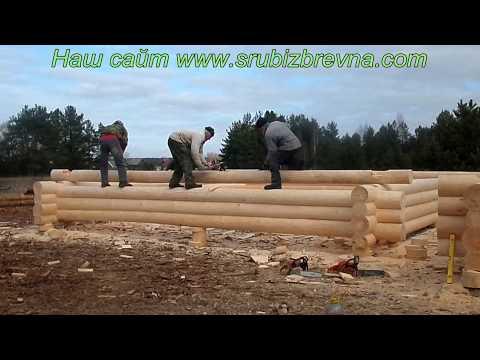 Строительство сруба из бревна , срубы во владимирской области