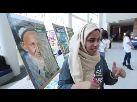 The MSA's Khadija Shamisa speaks to The Windsor Star on Islam Awareness Week 2016