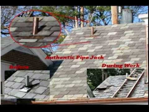 Video Roof Pipe Jacks Flashing Fabrication By Bob Wewer