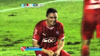 Gol de Rodríguez. Independiente 4 - Belgrano 1. Liguilla Pre Libertadores 2015. FPT