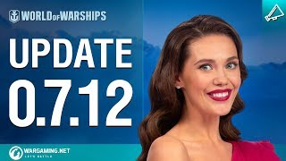 Alena Presents Update 0.7.12 | World of Warships