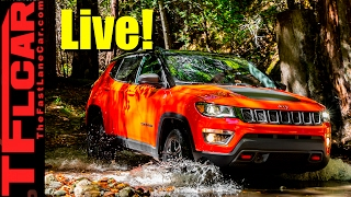 Live! All-new 2017 Jeep Compass Press Briefing