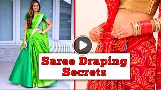 Saree Draping Secrets and Styles Noone Told You Before | TBG Bridal Store