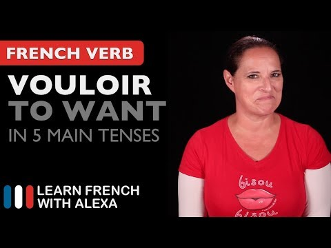 Vouloir (to want) in 5 Main French Tenses