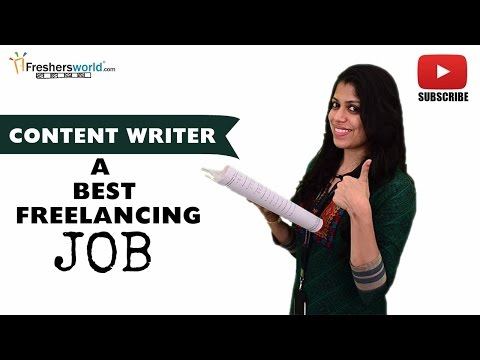 Job Roles For Content Writer – Technical writer,editors,prof